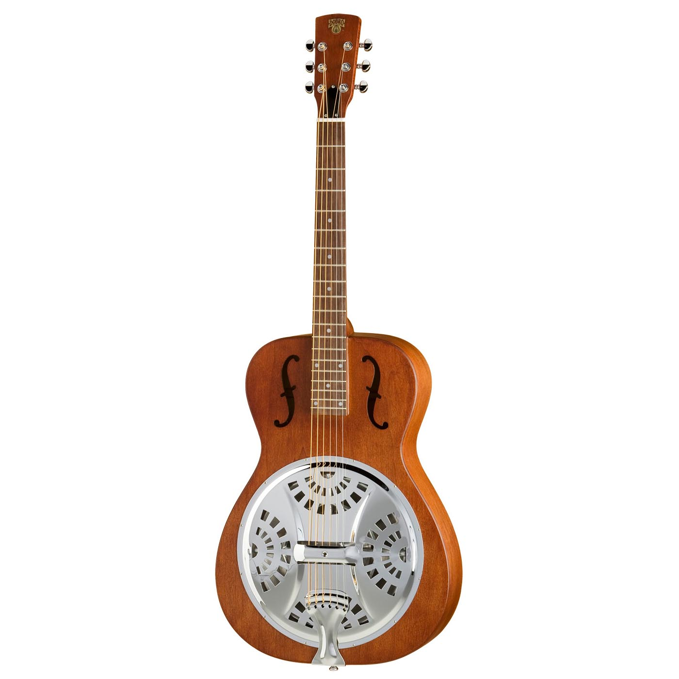 Dobro Hound Dog Round Neck Resonator