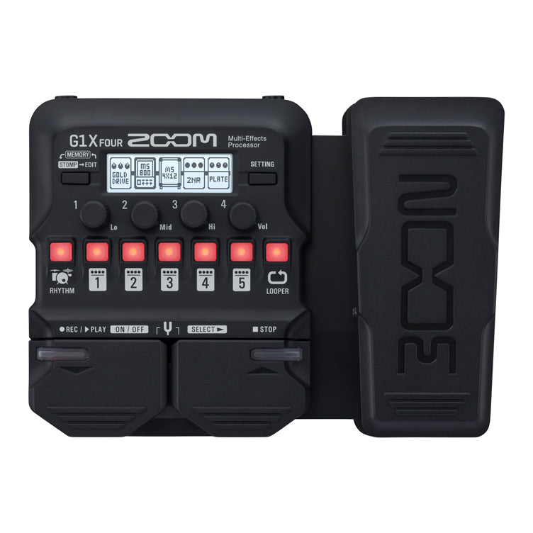 Zoom G1X Four Multi Effects Processor