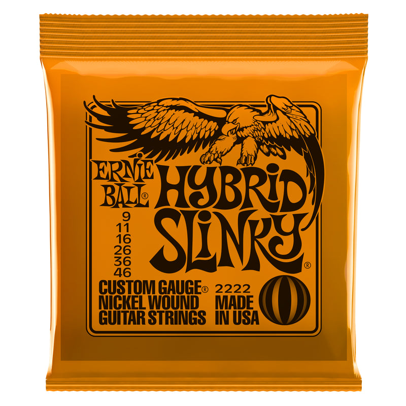 Ernie Ball Hybrid Slinky Nickel Wound Electric Strings
