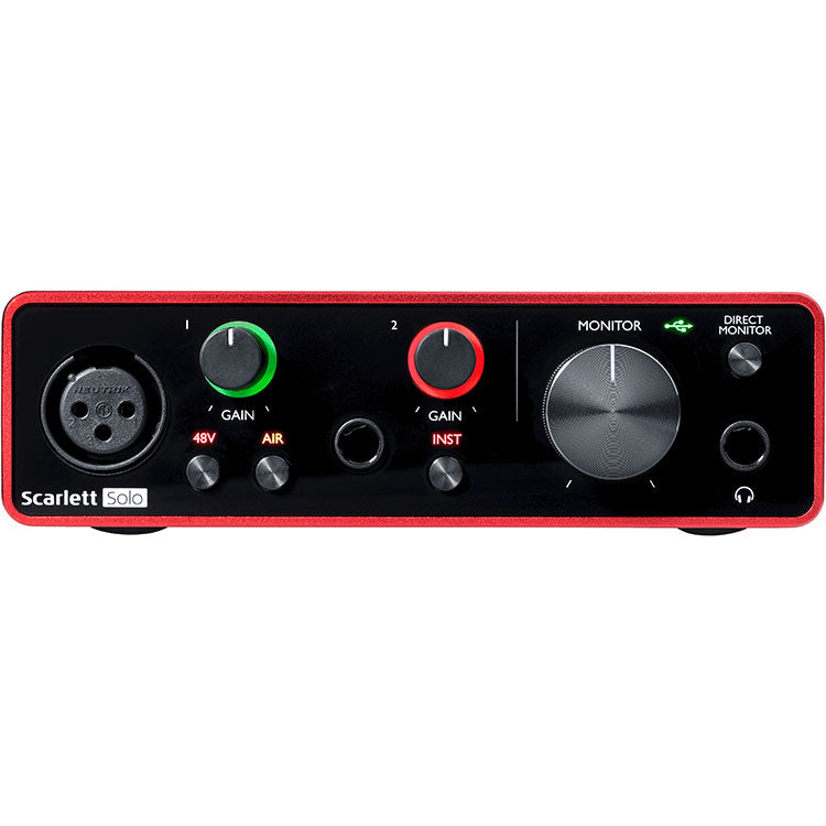 Focusrite Scarlett SOLO 3rd Generation Recording Interface
