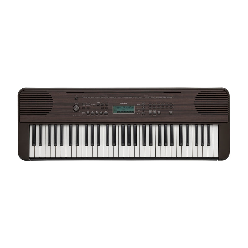 Yamaha PSR-E360 Dark Walnut Keyboard