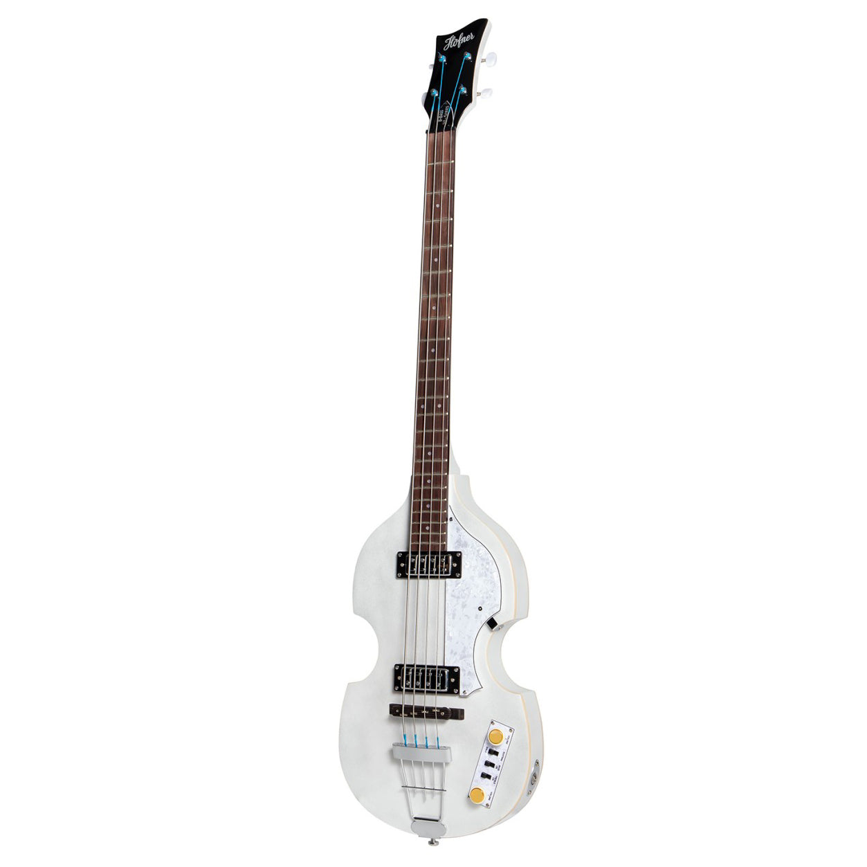 Hofner Ignition Pro Violin Bass Pearl White HOF-HI-BB-PE-PW