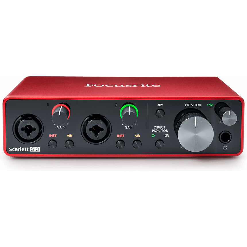 Focusrite Scarlett 2i2 3rd Generation Recording Interface