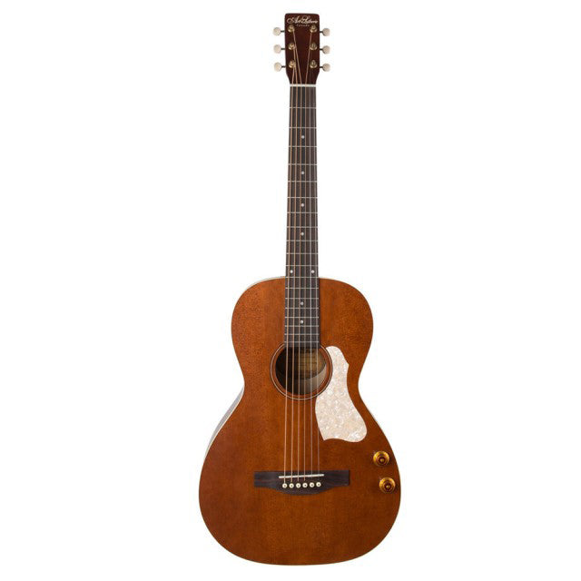 Art and Lutherie Roadhouse Q-Discrete Havana Brown W/Bag