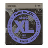 D'Addario EPN115 Pure Nickel Wound Blues/Jazz/Rock 11-48 EPN115