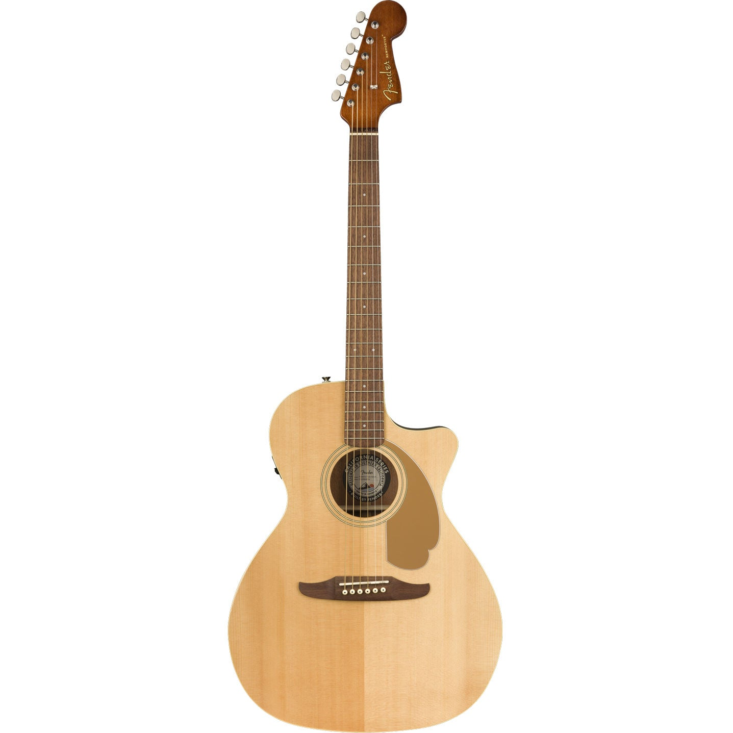 Fender Newporter Player Natural Acoustic Electric