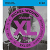 D'Addario EXL120 Nickel Wound Super Light 9-42