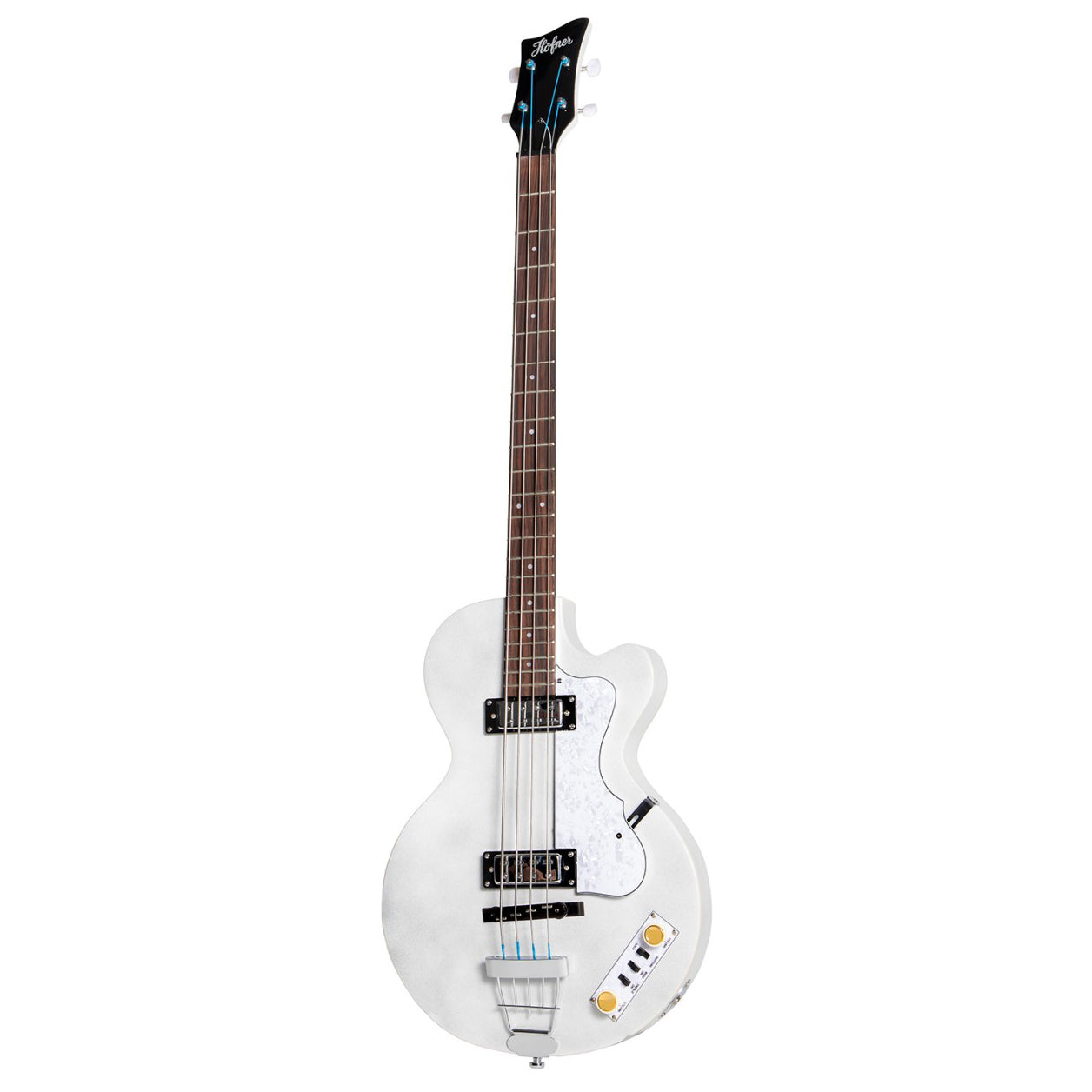Hofner Ignition Pro Club Bass Pearl White HOF-HI-CB-PE-PW
