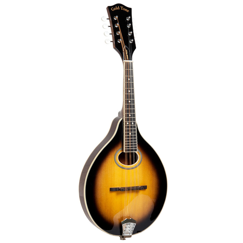 Gold Tone A-Style Mandolin with Pickup and Bag GM-50+