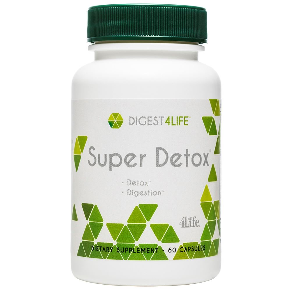 Natural detox for healthy digestive system and skin