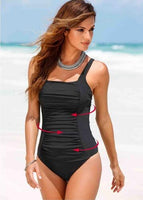 Women Plus Size One Piece Swimsuit