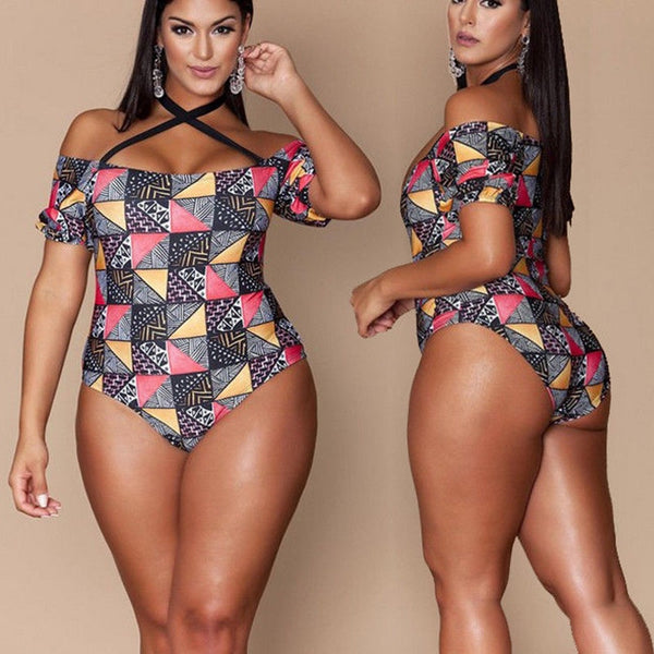 Floral, Retro, and Vintage Print One Piece Swimsuits