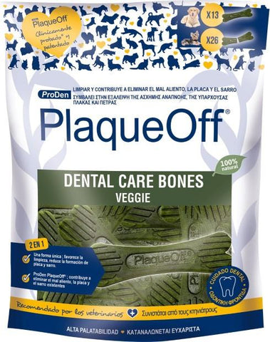 PLAQUE OFF DENTAL CARE BONES 485G