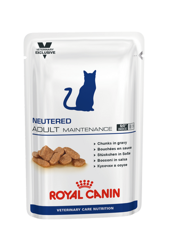Royal Canin Gato Neutered Adult Maintenance Húmida 12x100gr