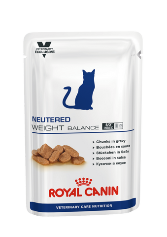 Royal Canin Gato Neutered Weight Balace Húmida 12x100gr