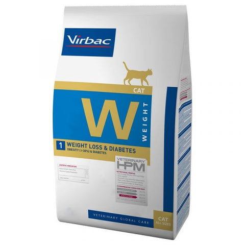 VIRBAC HPM W1 CAT WEIGHTLOSS & DIABETES