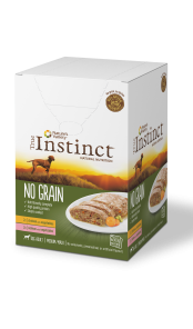Instinct Dog Wet MultiPack Medium Adult (4x300 gr)