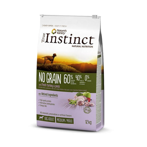Instinct Dog Medium/Maxi Adult No Grain Turkey