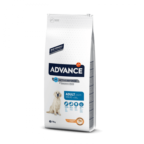 Advance Dog Maxi Adult Chicken & Rice 14 kg