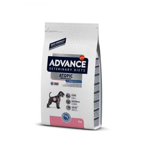 Advance Dog Atopic Medium/Maxi com Truta