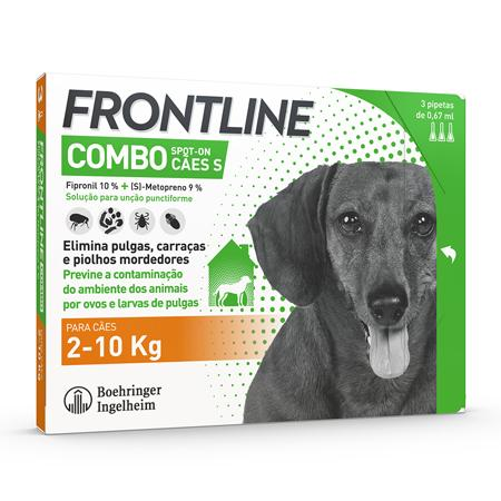 FRONTLINE COMBO CÃES 3 PIPETAS