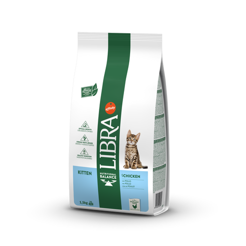 Libra Kitten Chicken & Rice 1,5 kg