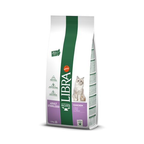 Libra Cat Adult Sterilized Chicken & Barley