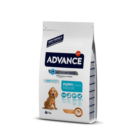 Advance Dog Puppy Medium Chicken & Rice