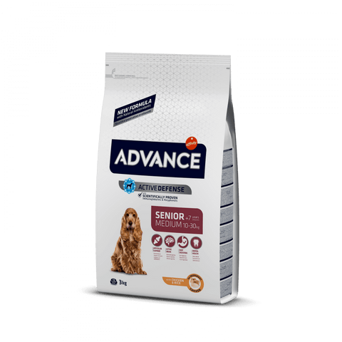 Advance Dog Medium Senior Chicken & Rice