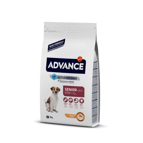 Advance Dog Mini Senior Chicken & Rice