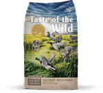 Taste of the Wild Ancient Wetlands Pato, Adulto Raças Media e Grande