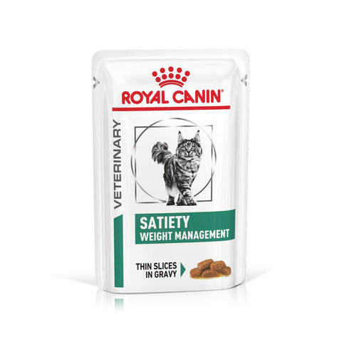 Royal Canin Gato Satiety Weight Management Húmida 12x85gr