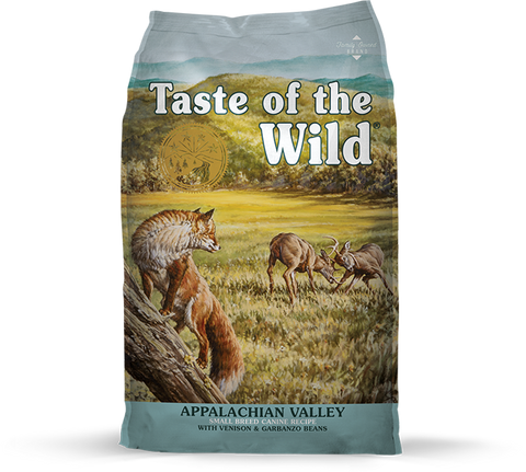 Taste of the Wild Appalachian Valley Veado, Cão Adulto Raça Pequena