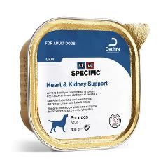 SPECIFIC CÃO HEART & KIDNEY SUPPORT HUMIDO 6X300GR