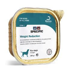 SPECIFIC CÃO WEIGHT REDUCTION HUMIDO 6*300GR