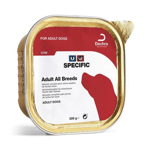 SPECIFIC CXW ADULT ALL BREEDS 6X300GR