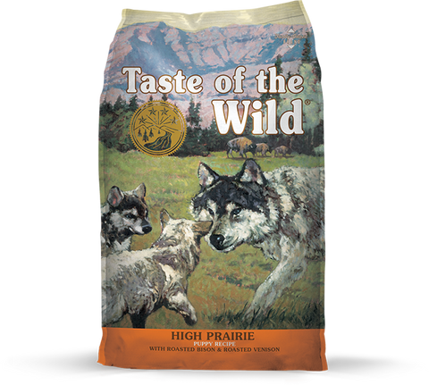 Taste of the Wild High Prairie Bisonte e Veado Cachorro