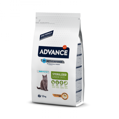 Advance Cat Junior Sterilized Chicken & Rice