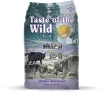 Taste of the Wild Sierra Mountain Borrego Adulto Raças Media e Grande