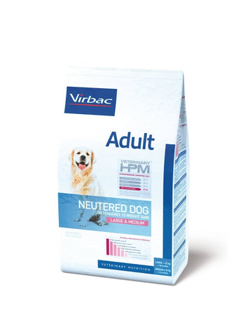 VIRBAC HPM NEUTERED ADULT DOG LARGE/MEDIUM