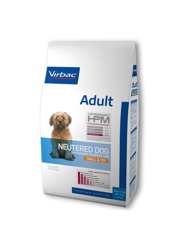 VIRBAC HPM NEUTERED ADULT DOG SMALL/TOY