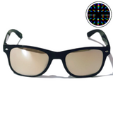 Diffraction Glasses - Cosmic, Starburst Effect (Black) - WonkiWear