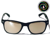 Diffraction Glasses - Vortex, Spiral Effect (Black) - WonkiWear