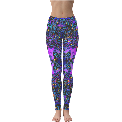 Leggings - Purblue