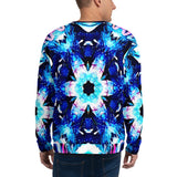 Mens Sweatshirt - Chakra Galaxy-Apparel-WonkiWear