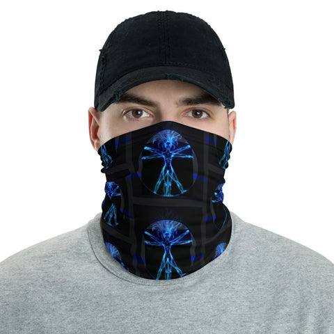 Face Mask - Vitruvian-Face Mask-WonkiWear