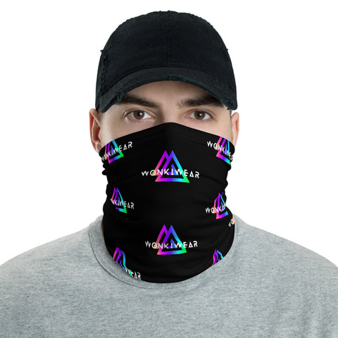Face Mask - WonkiWear Logo Black-Face Mask-WonkiWear