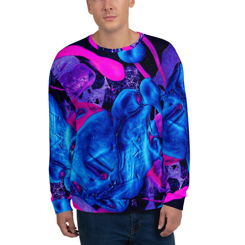 Mens Sweatshirt - Splat-Men-WonkiWear