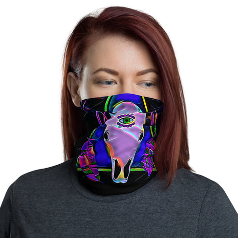 Face Mask - Third Eye Skull-Face Mask-WonkiWear