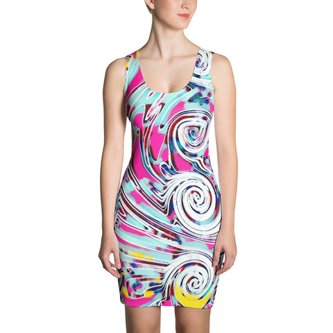Dress - Swirl - WonkiWear